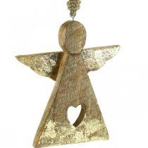 Figurine déco ange manguier déco à accrocher 13 × H13.5cm 2pcs