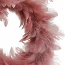 Décoration de Pâques guirlande de printemps rose ancienne Ø18cm décoration de printemps
