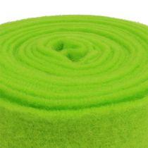 Bande de feutrine 15 cm x 5 m verte