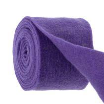 Bande de feutrine 15 cm x 5 m violette