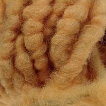 "Cordelette de feutrine ""Flausch Mirabell"" 25 m couleur naturelle"