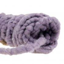 Veltro Mirabell Felt Cord Violet 25m