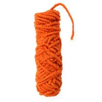 "Cordelette de feutrine ""Flausch Mirabell"" 25 m orange"