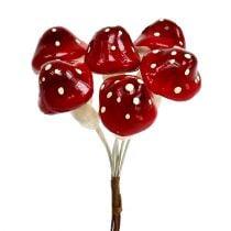 Amanite tue-mouches sur fil de fer 12 bouquets