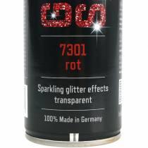 Spray pailleté rouge 400ml