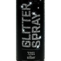 Spray paillettes argent 400ml