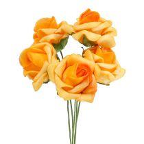 Mousse Rose Ø 3.5cm Abricot 48pcs