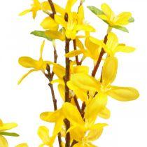 Forsythia artificiel, branches d'or artificielles, décoration de printemps L82cm