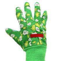 Gants femme Kixx taille 8 vert avec motif