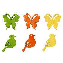 Mélange de figurines printanières Multicolore 2cm 144P