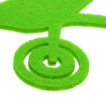 Accessoires de jardinage verts en feutrine 24 p.