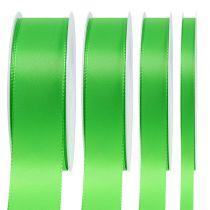 Ruban cadeau et décoration 50 m vert clair