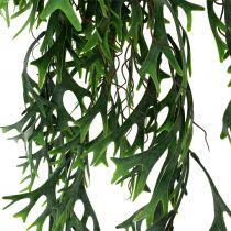 Buisson de fougère bois suspendu 84cm