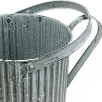 Arrosoir pour plantation, pichet décoratif en métal, jardinière Ø19,5cm
