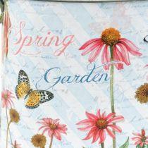 Arrosoir décoratif pour planter des fleurs en seau en métal H15.5cm