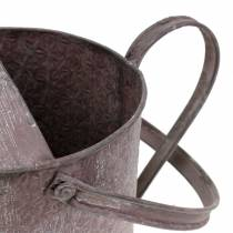 Arrosoir Décoratif Violet H15cm