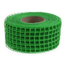 Ruban grillagé vert 4,5 cm x 10 m