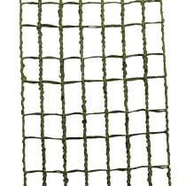 Ruban grillagé vert mousse 4,5 cm x 10 m