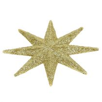 Étoile scintillante or Ø10cm 12pcs