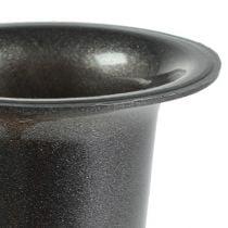 Vase grave anthracite 28,5 cm