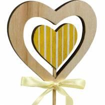 Bouchon décoratif papillon fleur et coeur, décoration de printemps, bouchon de fleur, Saint Valentin 9pcs