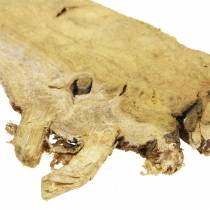Disques décoratifs en bois naturel 1kg