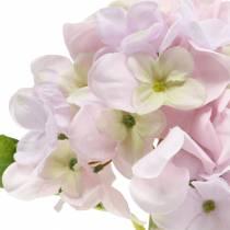 Hortensia artificiel violet clair 36cm