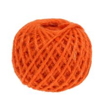 Corde de jute orange Ø 3 mm 100 g