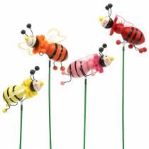 Bouchon décoratif coléoptère coloris assortis H25cm 12pcs