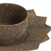 Chandelier pour insertion Ø9cm L8,5cm Marron