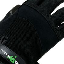 Gants lycra synthétique Kixx taille 10 noir