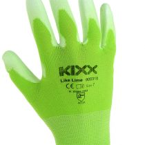 Gants de jardinage Kixx taille 7, vert clair/citron vert