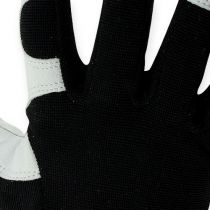 Gants en lycra Kixx taille 10, noir/bleu clair