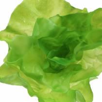 Salade de feuilles artificiellement au toucher réel 17cm
