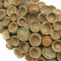 Couronne de décoration d'automne de glands couronne naturelle Ø30cm