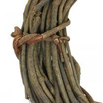 Couronne décorative faite de branches naturelles Ø40cm couronne naturelle