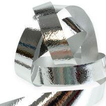 Ruban décoratif brillant argenté 10 mm 250 m