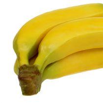 Régime artificiel de banane jaune 23cm