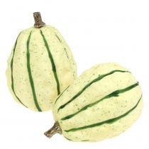 Crème de potiron décorative, vert 11cm 6pcs