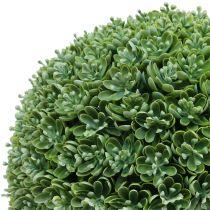 Boule de buis artificielle verte Ø 28 cm