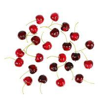 Mélange de cerises douces aux fruits artificiels Ø2.5cm 24pcs