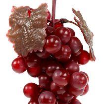 Raisins artificiels rouges 22cm