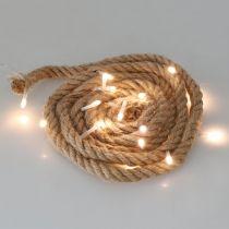 Guirlande lumineuse LED pour guirlande LED d'intérieur 190cm 20L blanc chaud