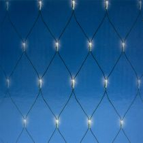 Filet lumineux LED 384 blanc chaud 3m x3 m pour extérieur