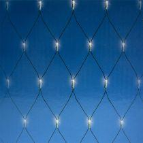 Filet lumineux LED 180 blanc chaud 2m x 2m pour extérieur