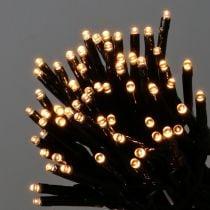 Chaîne lumineuse à riz LED pour extérieur 480er 36m noir / blanc chaud