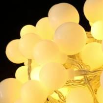 Guirlande lumineuse à LED Cerise blanc chaud 9m 120LED