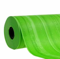 Manchette papier vert 25cm 100m