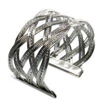 Bracelet en métal argenté 6 p.