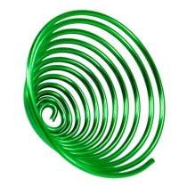 Escargot en métal vert pomme 2mm 120cm